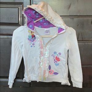 Disney princess 👸 size 5/6 jacket  ❄️FROZEN ❄️